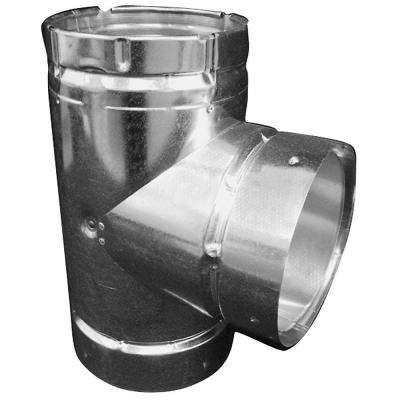 4 in. B-Vent Double Wall Round Tee
