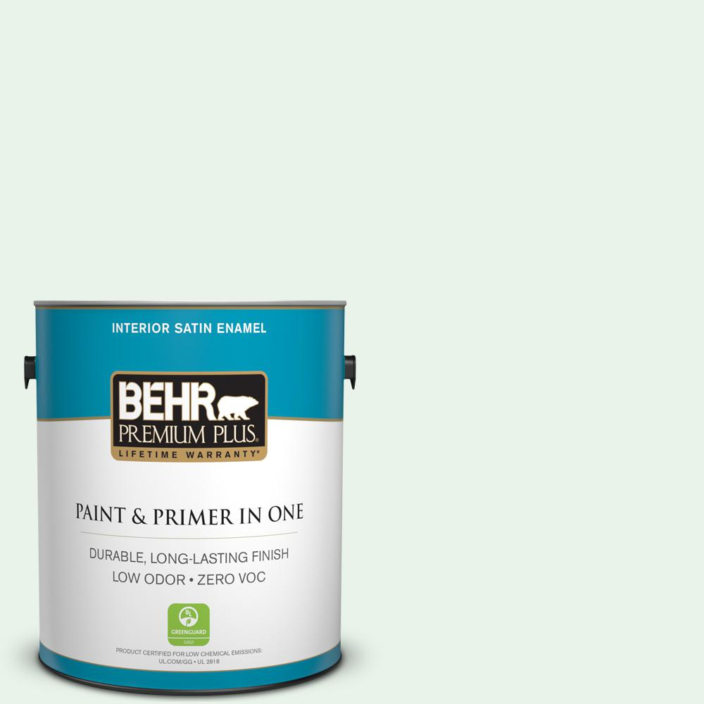 1 gal. #460A-1 Bubble Satin Enamel Zero VOC Interior Paint and