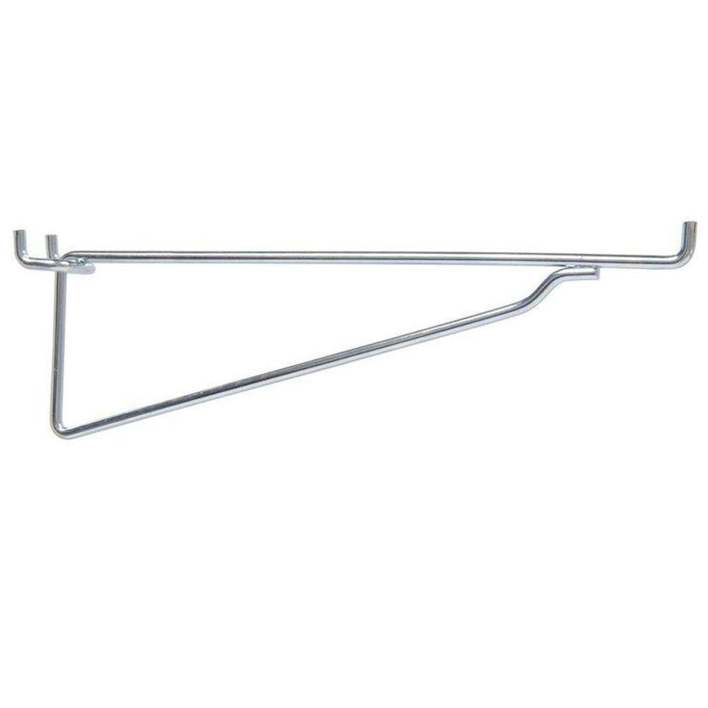 100 Pc Heavy duty steel 8/'/' Peg Board Hooks Shelf Hanger