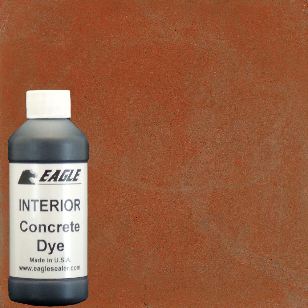 Eagle 1 gal. Sweet Potato Interior Concrete Dye Stain Makes with Water from 8 oz. Concentrate