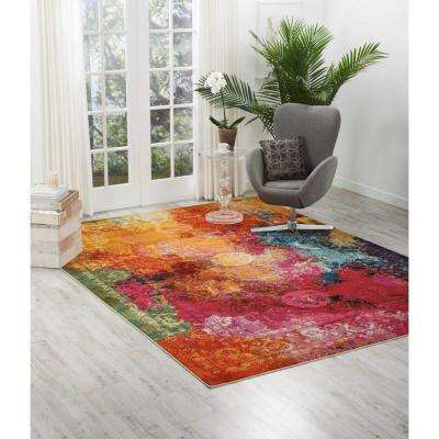 Celestial Seaglass 7 ft. 10 in. x 10 ft. 6 in. Area Rug