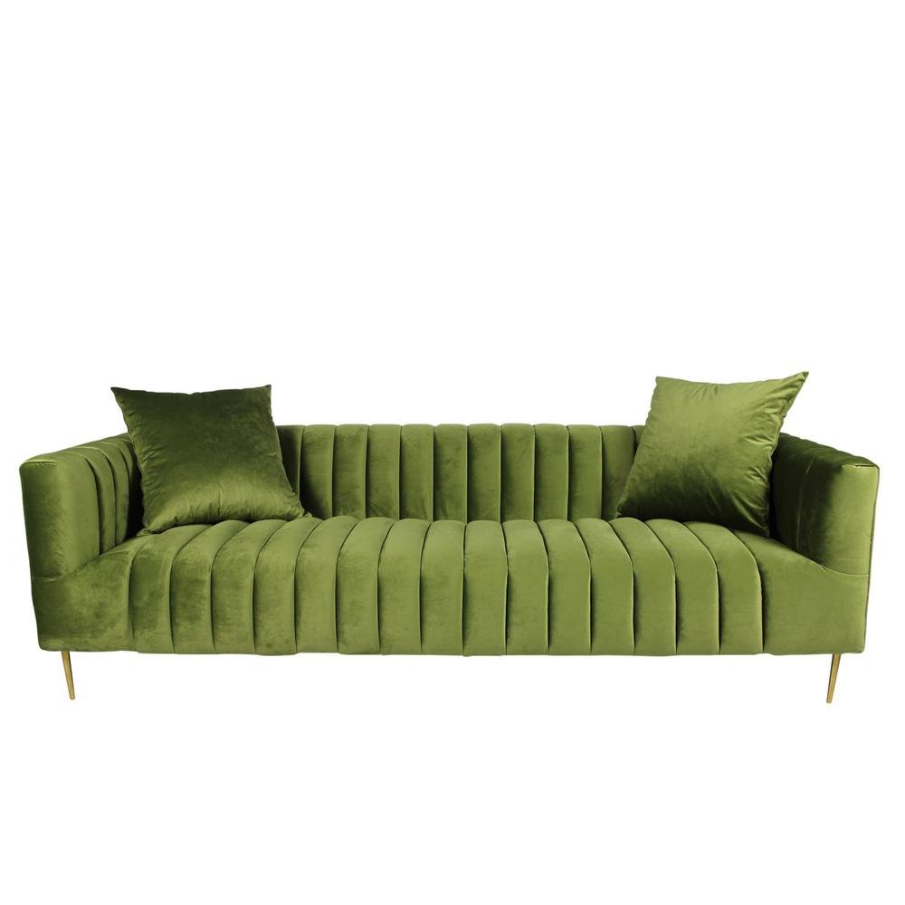 Bon Rutland Sofa In Olive