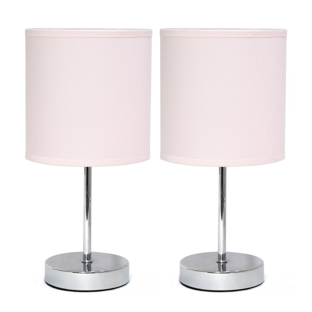 Pink Table Lamp Shade Table Design Ideas