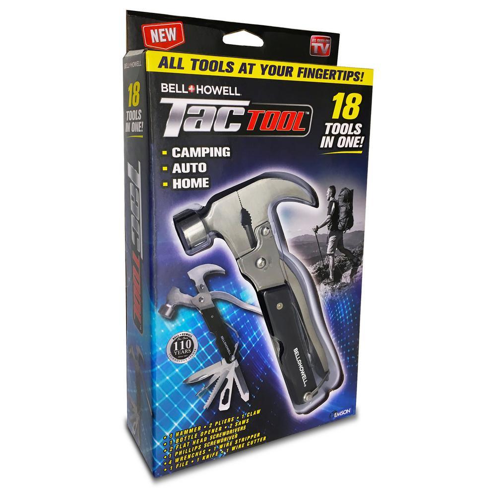 Tac Tool 18-in-1 Stainless Steel Multi-Tool
