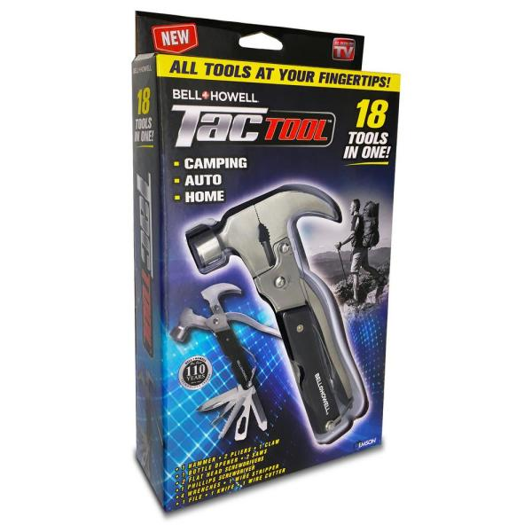 Tac Tool 18-in-1 Stainless Steel Multi-Tool