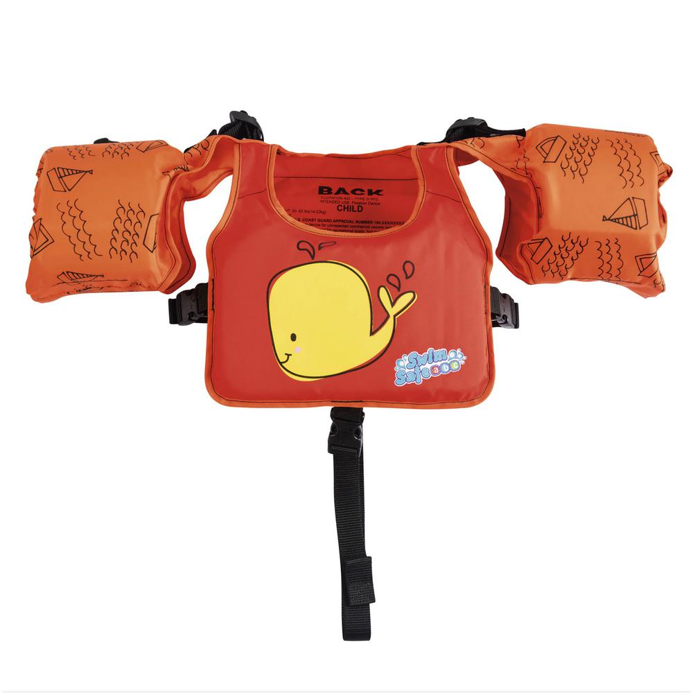 Swim Pal Duo USCG Swim Trainer - Whale