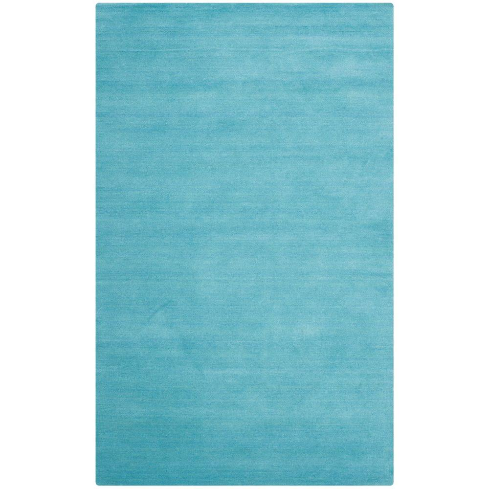 Safavieh Himalaya Turquoise Ivory 4 Ft X 6 Ft Area Rug: Safavieh Himalaya Turquoise 4 Ft. X 6 Ft. Area Rug-HIM610A