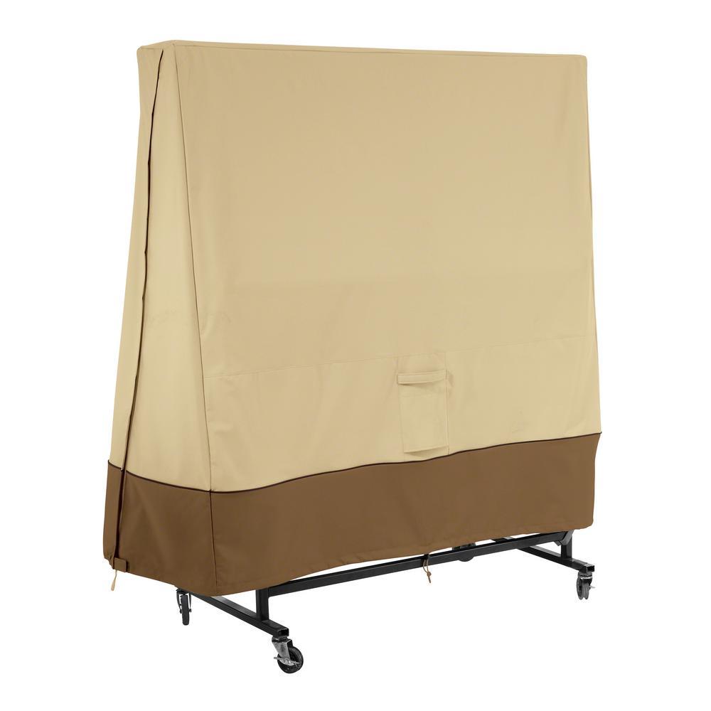 Veranda 62 in. L x 30 in. W x 63 in. H Ping Pong Table Cover