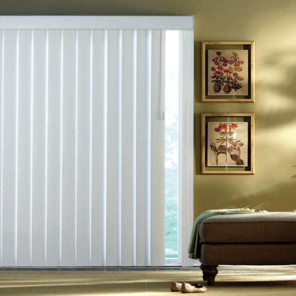 Home Decorators Collection White Stucco 4.5 In. PVC