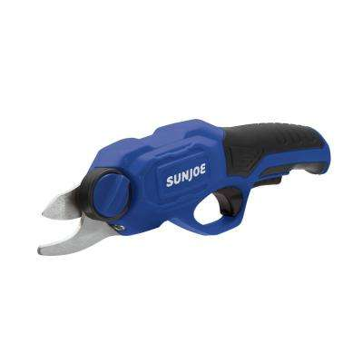 3.6-Volt 2.0 Amp Electric Cordless Pruner in Blue