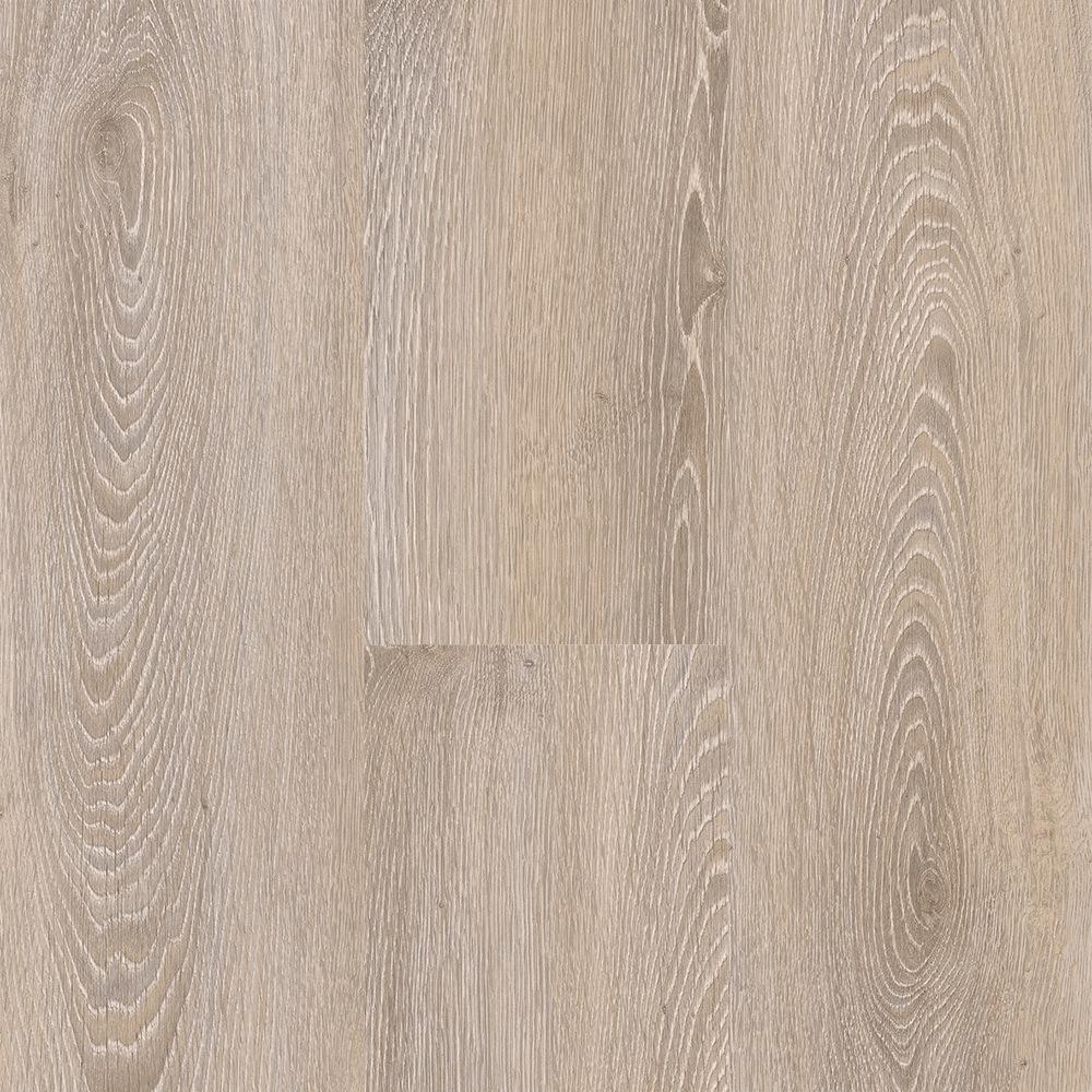 Home Decorators Collection Take Home Sample - Antique Brushed Oak Washed Click Vinyl Plank - 4 in. x 4 in.