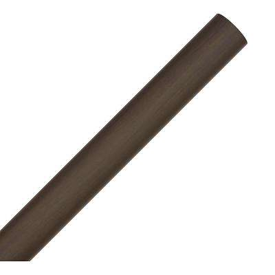 Perseus 32.5 in. Walnut Downrod Sleeve for 36 in. Downrod for 12 ft. ceilings