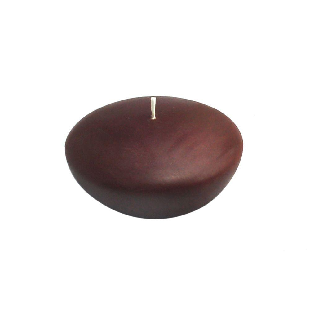 3 in. Brown Floating Candles (Box of 12)
