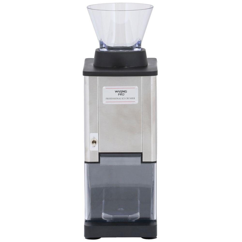 Waring Pro Professional Stainless Steel Large Capacity Ice Crusher
