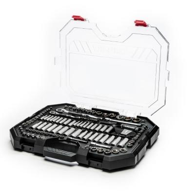 Clear Case Mechanics Tool Set (135-Piece)