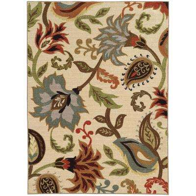 Townsend Tan 5 ft. x 7 ft. Area Rug