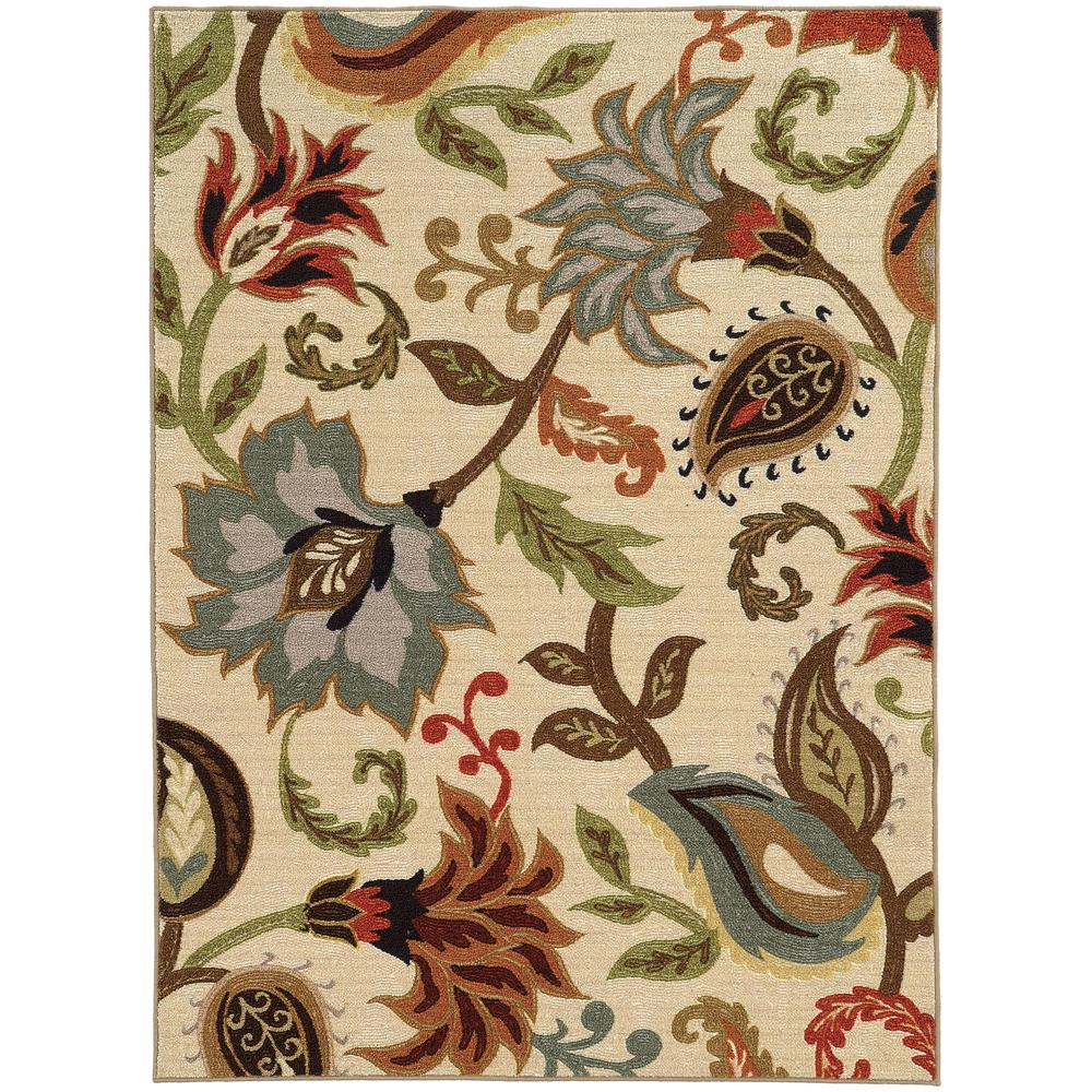 Home Decorators Collection Townsend Tan 7 ft. x 9 ft. Area Rug