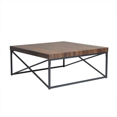 Soild Wood Square Frame Coffee Table Side Table Modren Dining Table