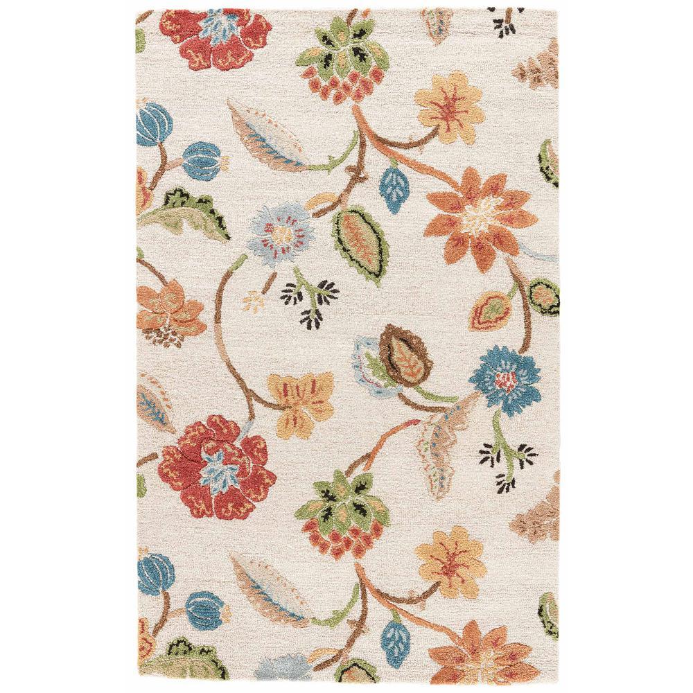 Kitchen Garden Jaipur: Jaipur Rugs Oak Buff 4 Ft. X 6 Ft. Floral Area Rug