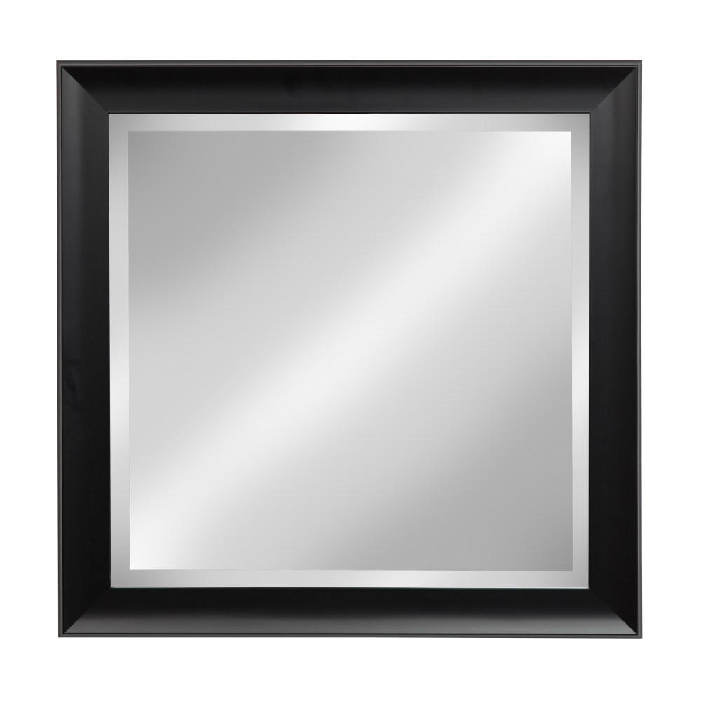 Scoop Rectangle Black Mirror