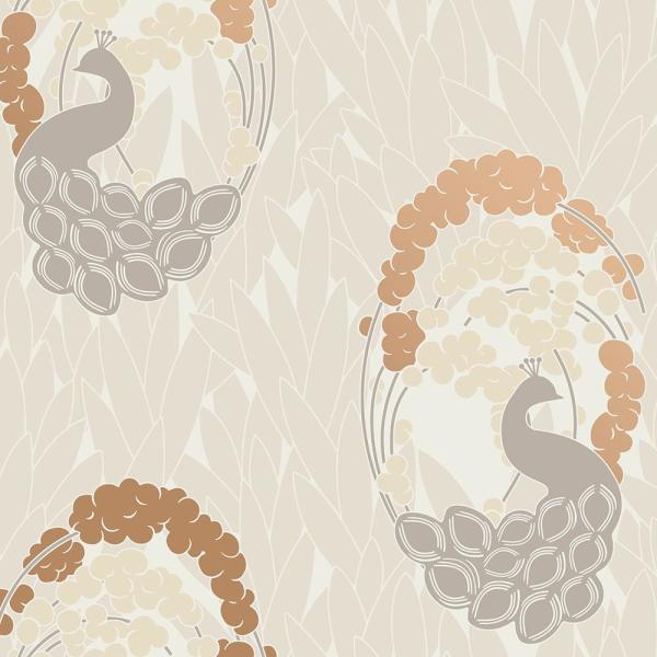 Deco Peacock Bluff Peel and Stick Wallpaper 60 sq. ft.