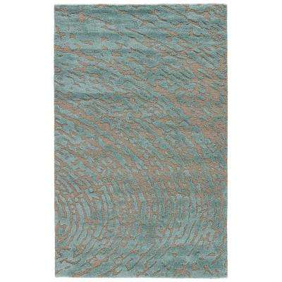 Wild Dove 9 ft. x 12 ft. Abstract Area Rug