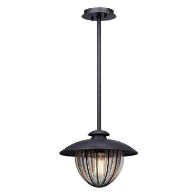 Murphy 1-Light Vintage Bronze Outdoor Pendant