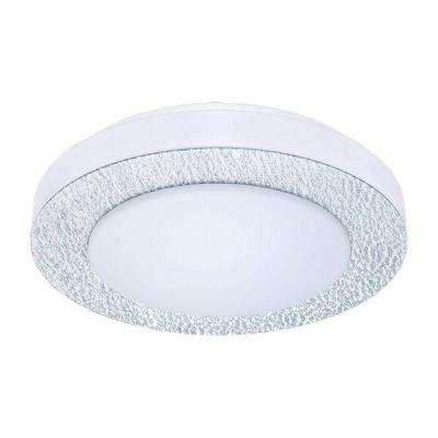 Carpi 1 Matte Nickel LED Ceiling Light