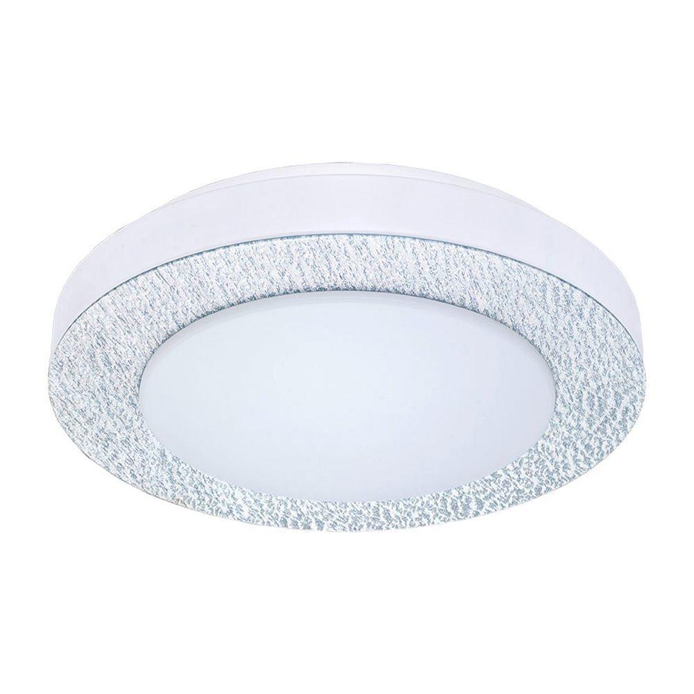 Eglo Carpi 1 Matte Nickel LED Ceiling Light by Eglo