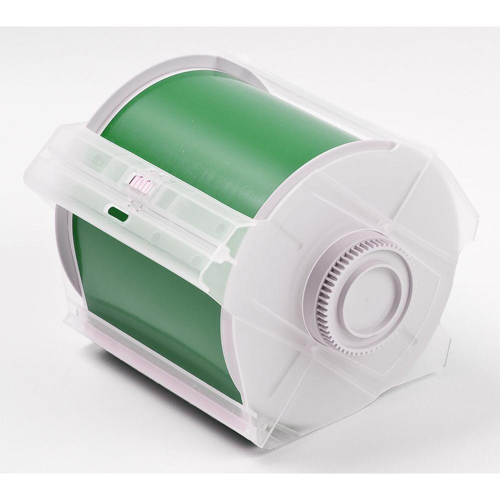 B569 GlobalMark 4 in. x 100 ft. Polyester Green Tape
