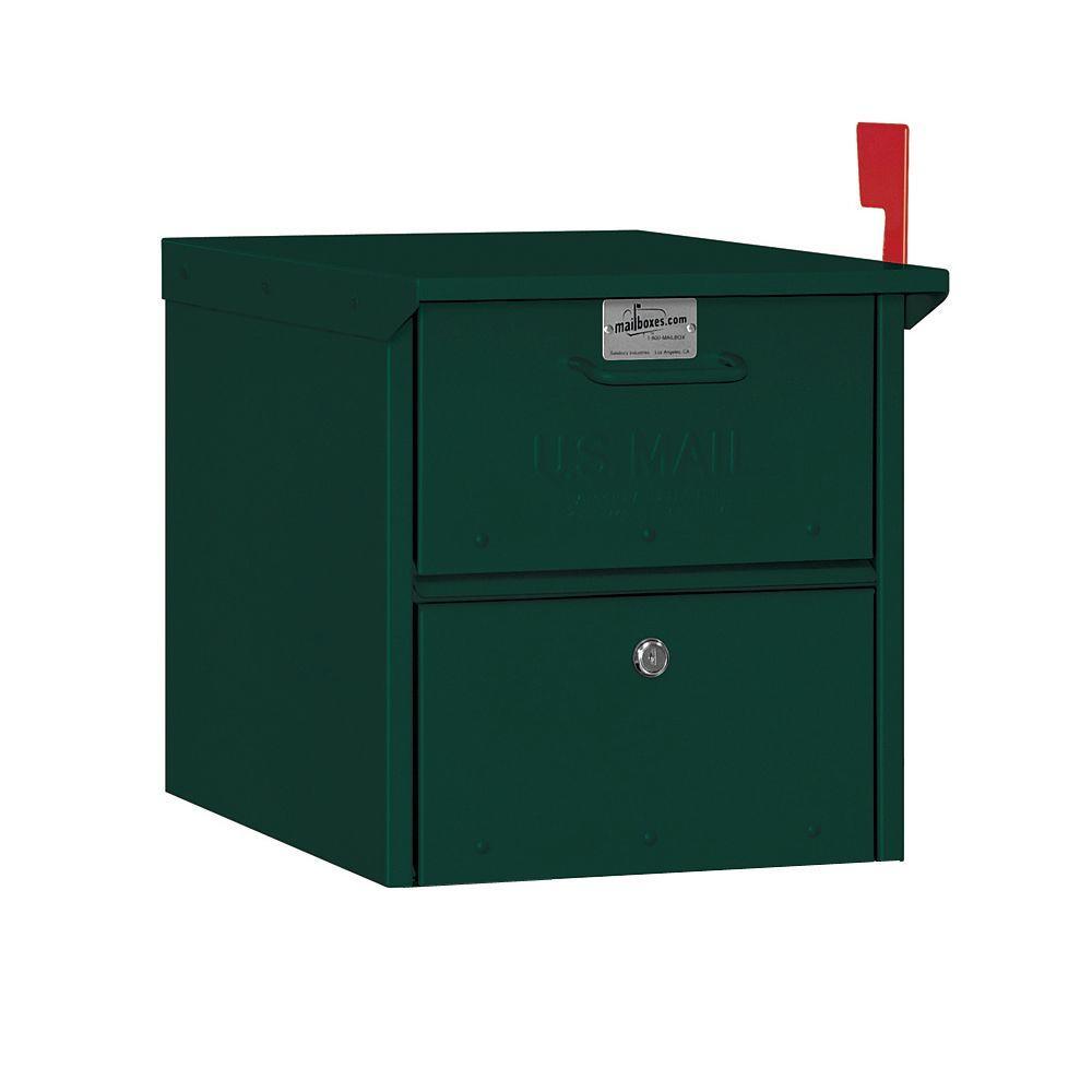 Post-Mount Roadside Mailbox