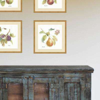 21 in. x 21 in. 'Orchard Bloom II' by Lisa Audit Fine Art Paper Print Framed with Glass Wall Art
