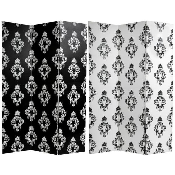 Oriental Furniture 6 ft. Printed 3-Panel Room Divider CAN-BWDAM