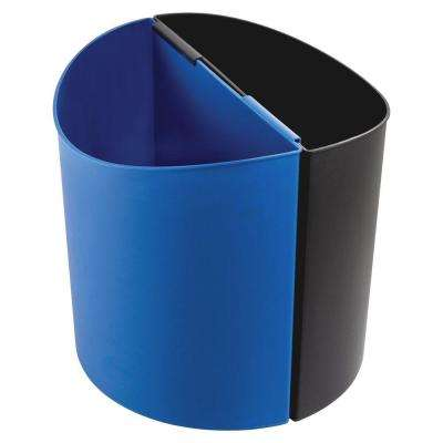 14 Gal. Small Desk-Side Indoor Recycling Bin
