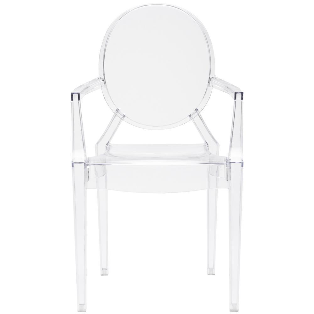 Burton Clear Arm Chair