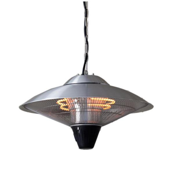 Az Patio Heaters 1 500 Watts Infrared Hanging Wall Mounted Electric Patio Heater Hil 2125 The Home Depot