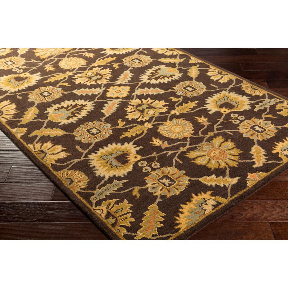 Artistic Weavers Leoville Brown Yellow