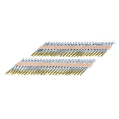 2-1/2 in. x 0.148 in. Dia Brite Paper Collated Metal Connector Nails (1,000-Count)