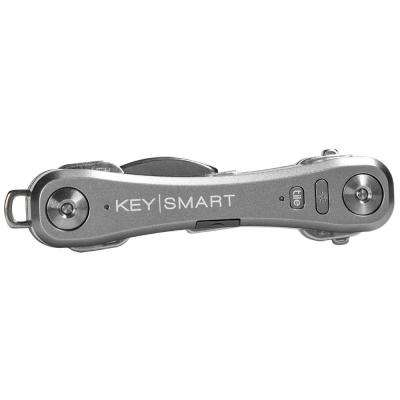 Pro Compact Key Holder with Tile Smart Location in Slate (Up to 10 Keys)