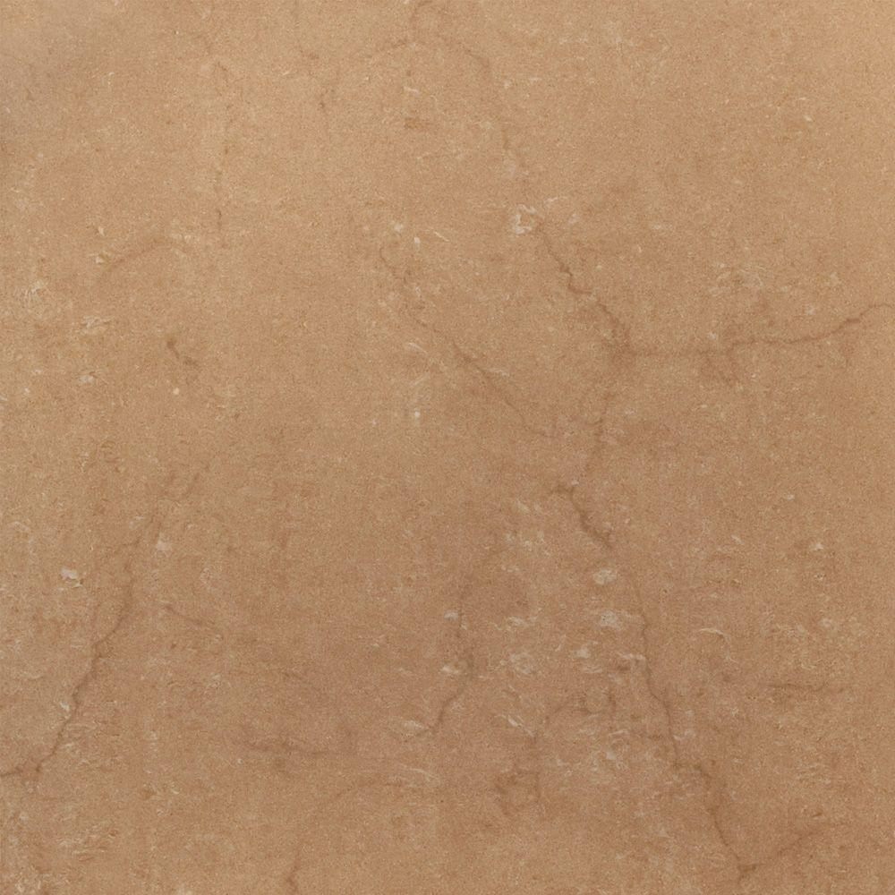 U.S. Ceramic Tile Murano Nocce 18 in. x 18 in. Glazed Porcelain Floor & Wall Tile-DISCONTINUED