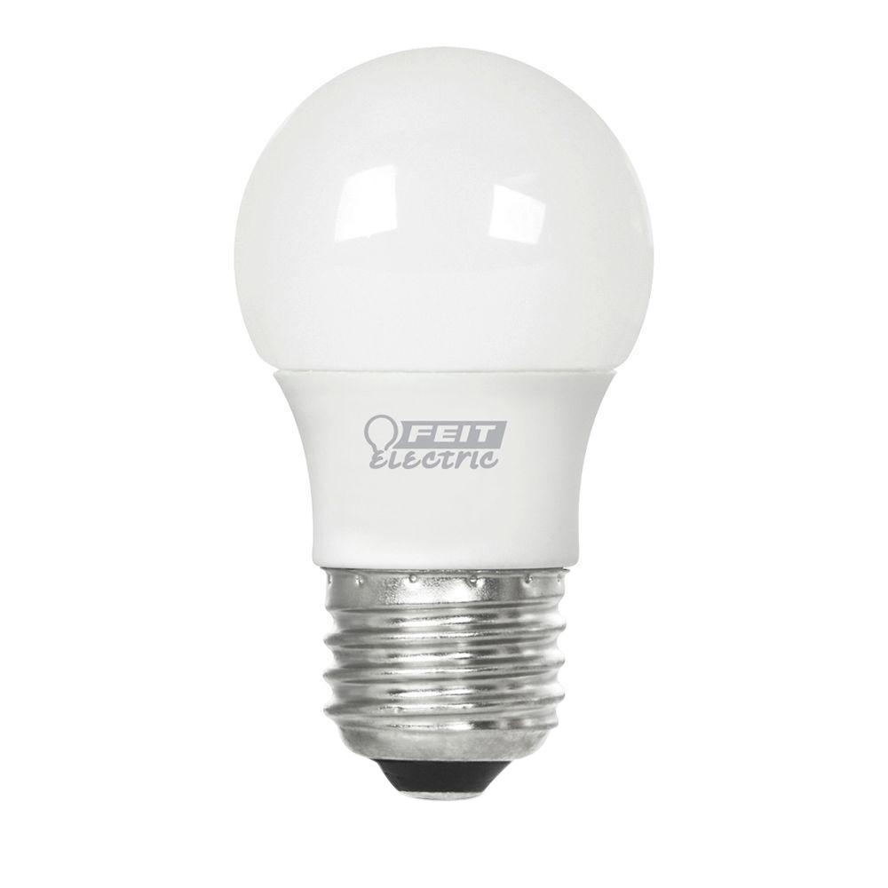 Feit Electric 25W Equivalent Soft White (3000K) A15 Frost LED Light Bulb
