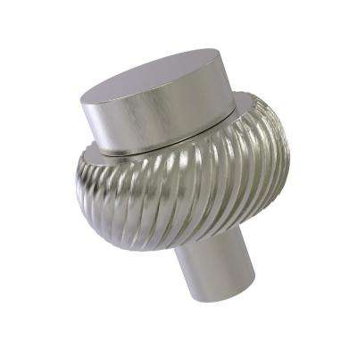 1-1/2 in. Cabinet Knob in Satin Nickel