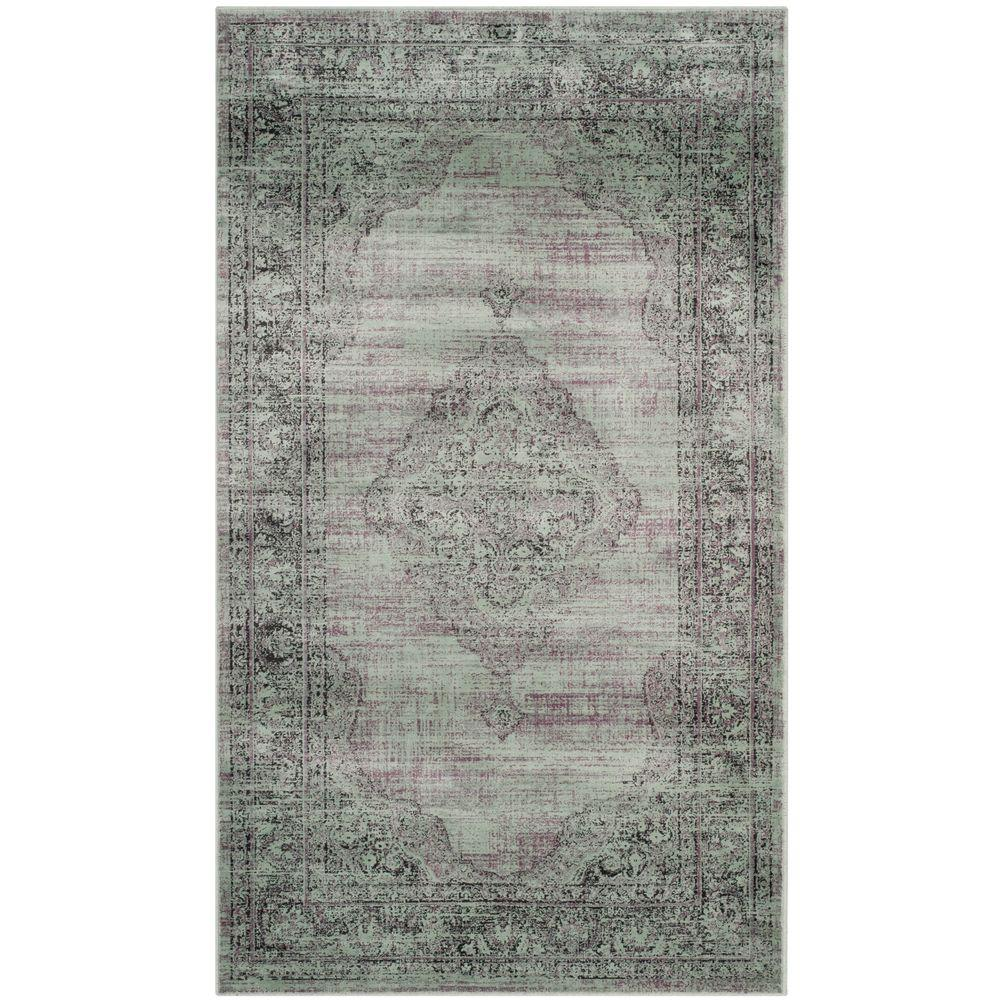 Safavieh Vintage Gray 3 ft. 3 in. x 5 ft. 7 in. Area Rug