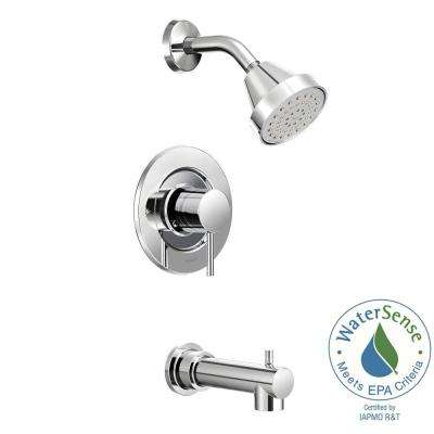 Align Single-Handle Posi-Temp Tub and Shower Faucet Trim Kit in Chrome (Valve Not Included)