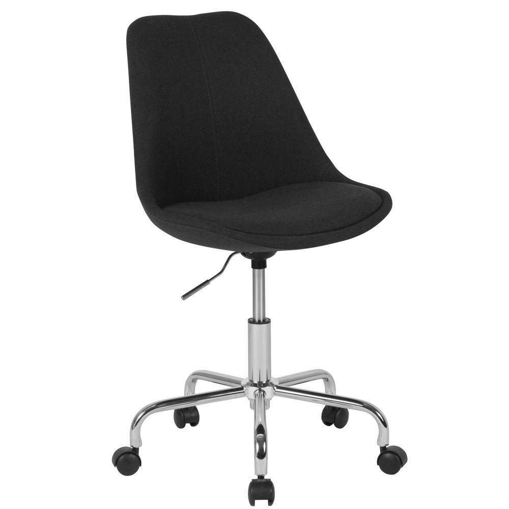 Flash Furniture Black Fabric Office/Desk Chair