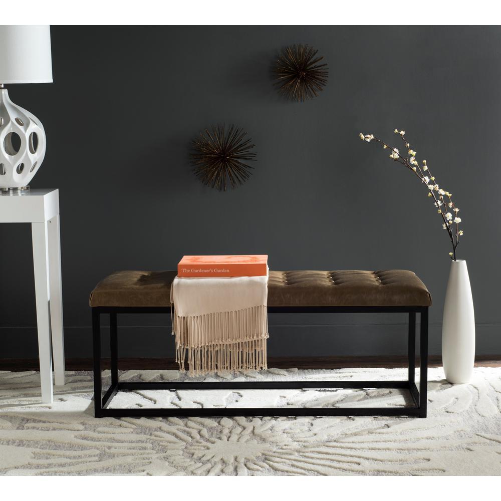Reynlds Tan/Black Bench