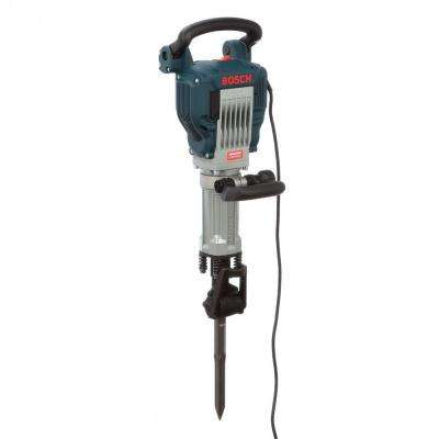 15 Amp 1-1/8 in. Corded Electric Hex Breaker Hammer Kit with Hard Carrying Case with Wheels