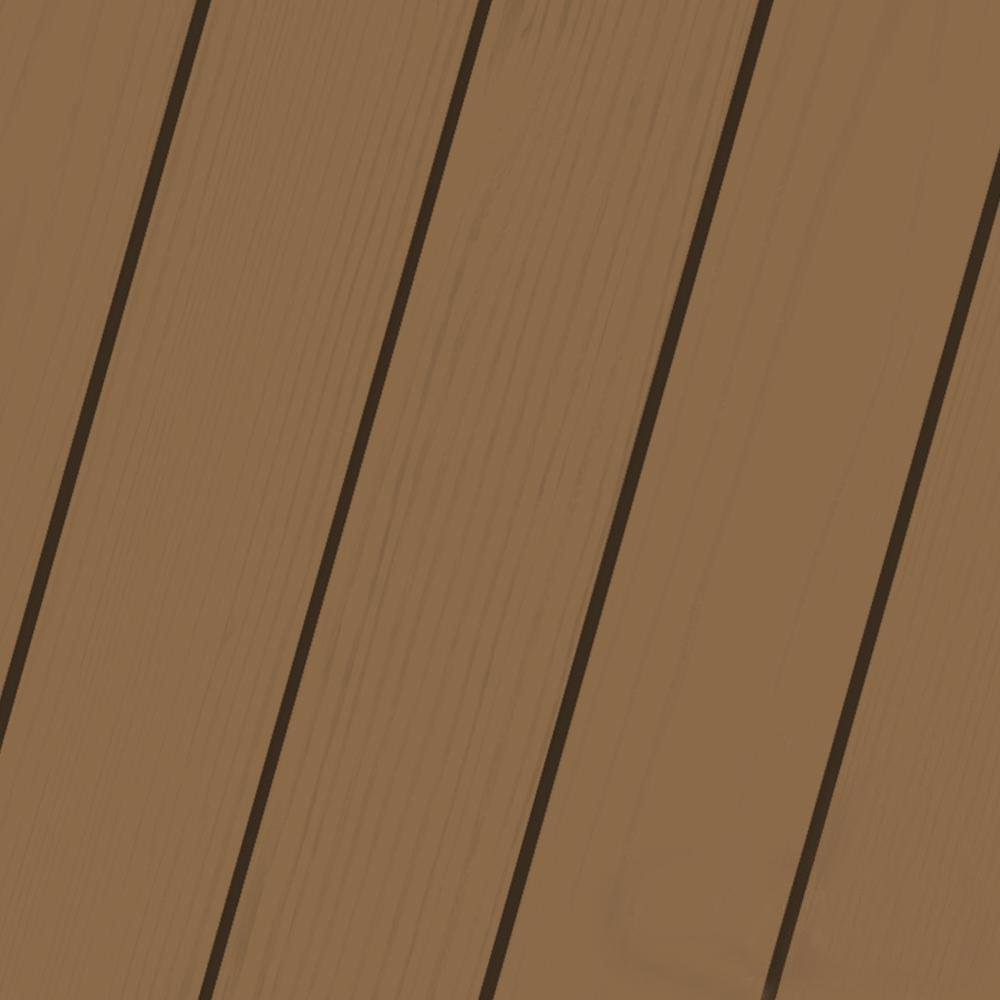 Olympic Maximum 1-qt. Chocolate Solid Color Exterior Stain and Sealant in One Low VOC