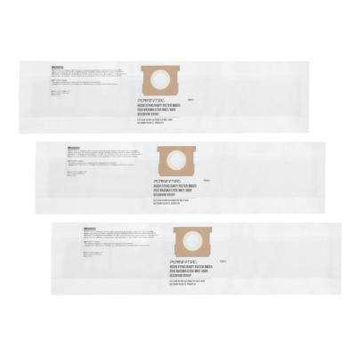 High Efficiency Filter Bags for Vacmaster VDBP (3-Pack)