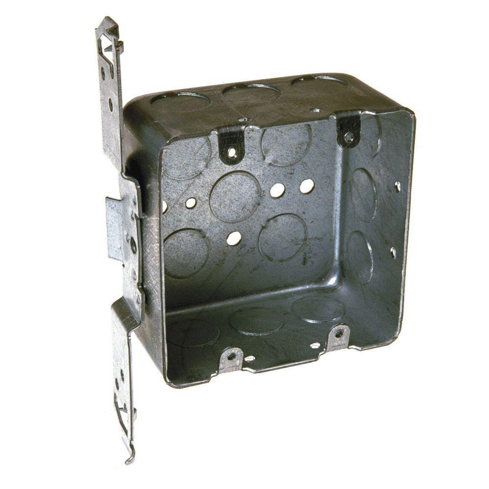 2-Device Drawn Switch Electrical Box, Bracket